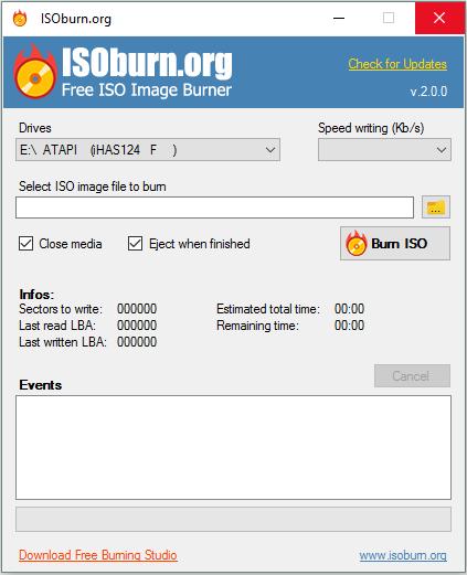 CD & DVD Tools Isobur10