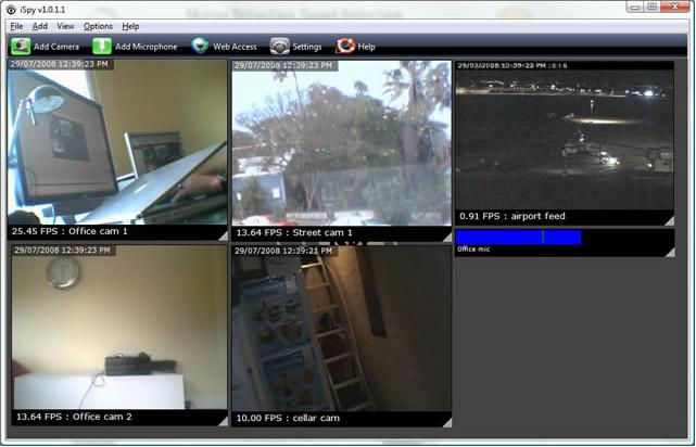 iSpy 7.2.1.0 - Μετατρέψτε την web καμερά σας σε ισχυρό σύστημα ασφαλείας Ispy_s10