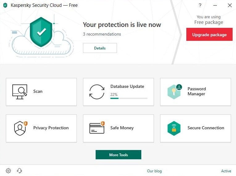 Kaspersky Security Cloud Free 20.0.14.1085 Kasper10
