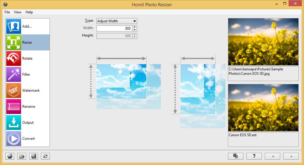 Hornil Photo Resizer 1.1.1.1 Photor10