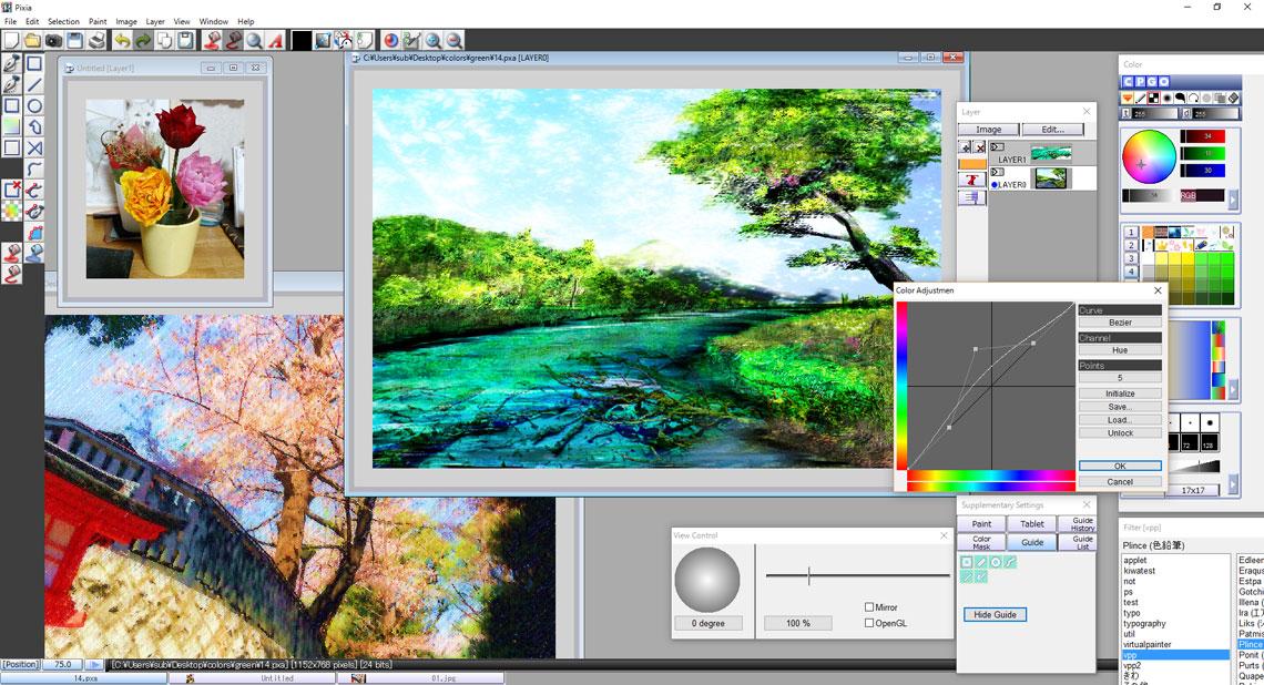 Photo & Graphic Tools Pixia-10