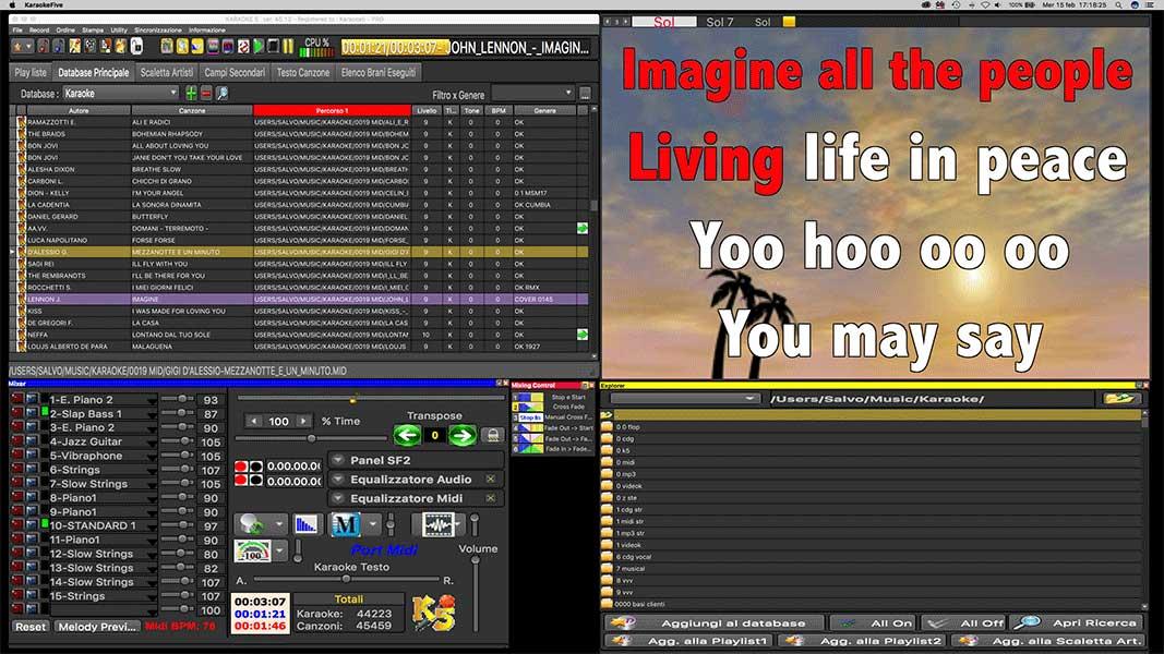 Karaoke 5 45.45 Progra10