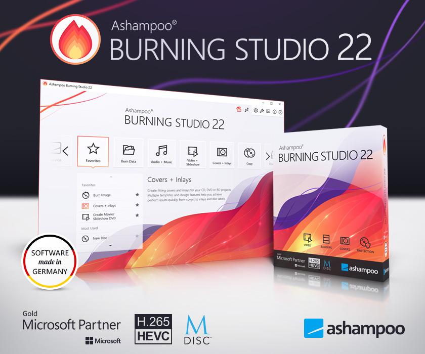 Ashampoo Burning Studio 22 (Review) Scr-as57