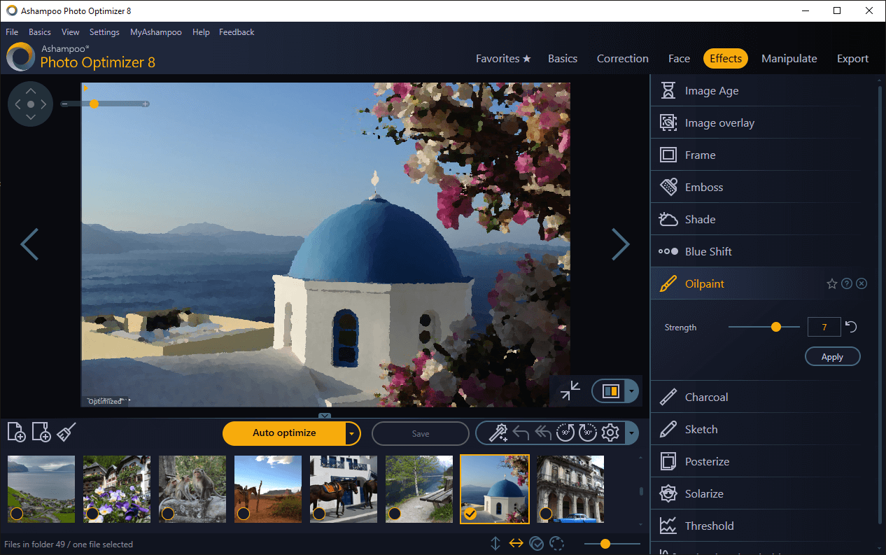 Ashampoo  Photo Optimizer 8 (Review)  Scr_as13