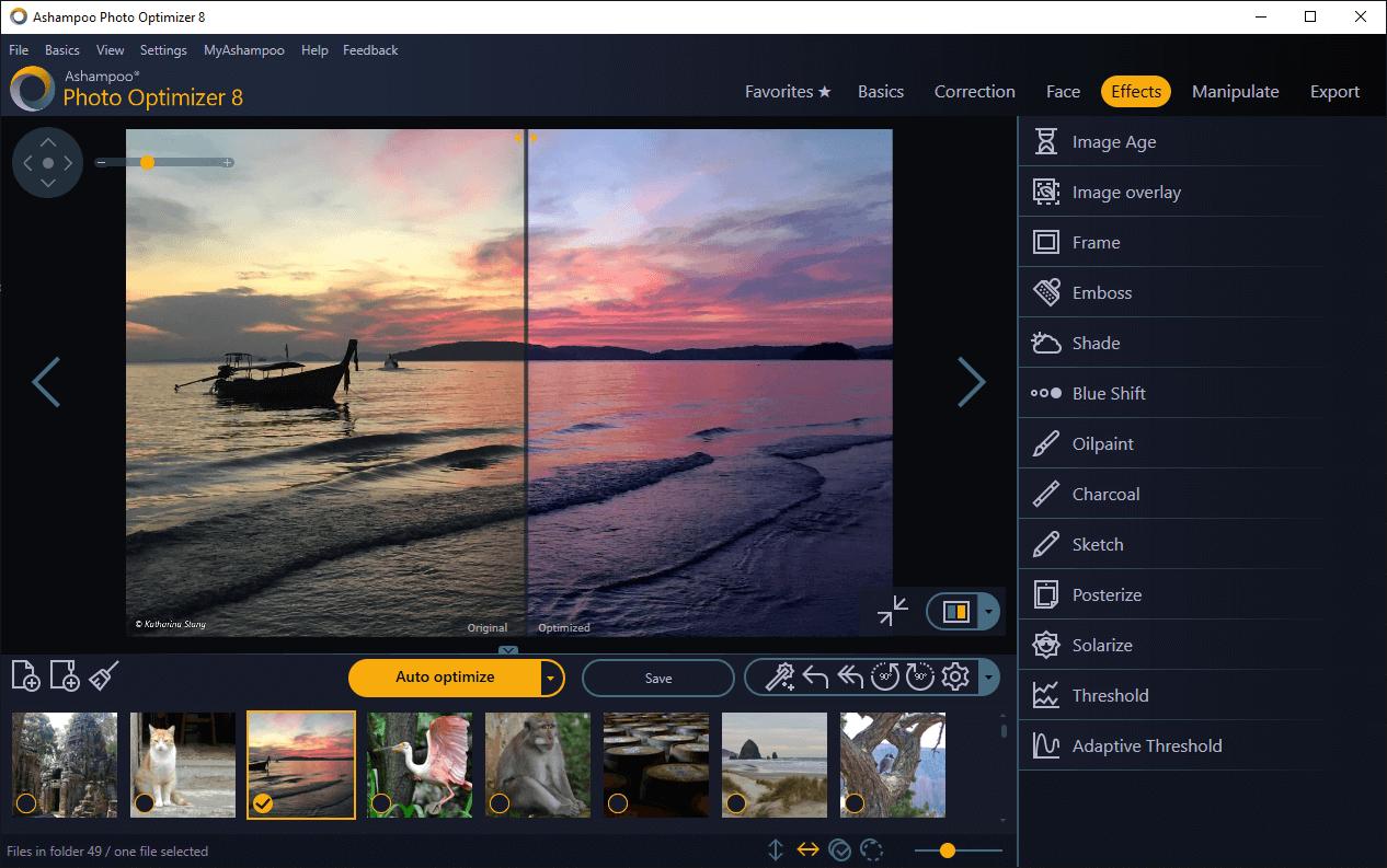 Ashampoo  Photo Optimizer 8 (Review)  Scr_as16