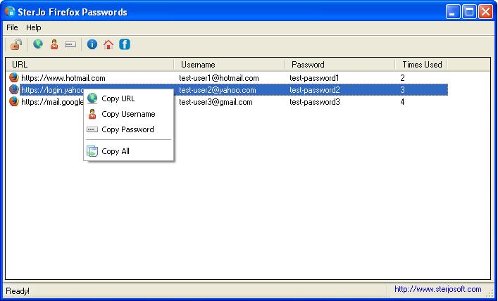 SterJo Firefox Passwords 1.8 Scr_fi10
