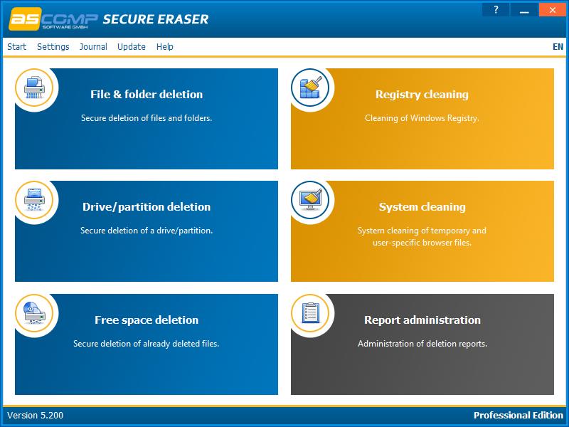 Secure Eraser 5.211 Screen13