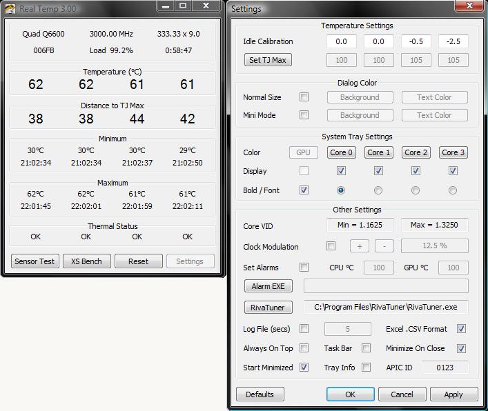 Real Temp 3.70 - Δείτε τη θερμοκρασία του επεξεργαστή σας Screen16