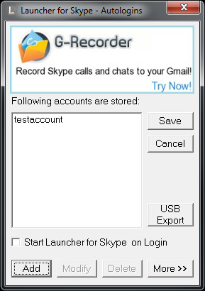 Launcher for Skype 1.6.7 Slconf10