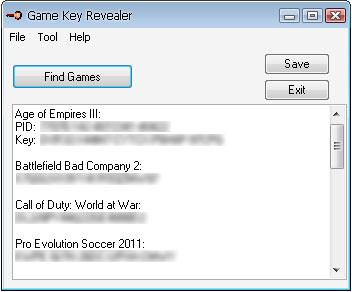 Game Key Revealer 1.6.32 - Βρείτε χαμένα keys των game σας Ssgkr10