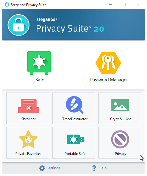 Steganos Privacy Suite 20 - Anniversary Celebration (Review) Sss20_11