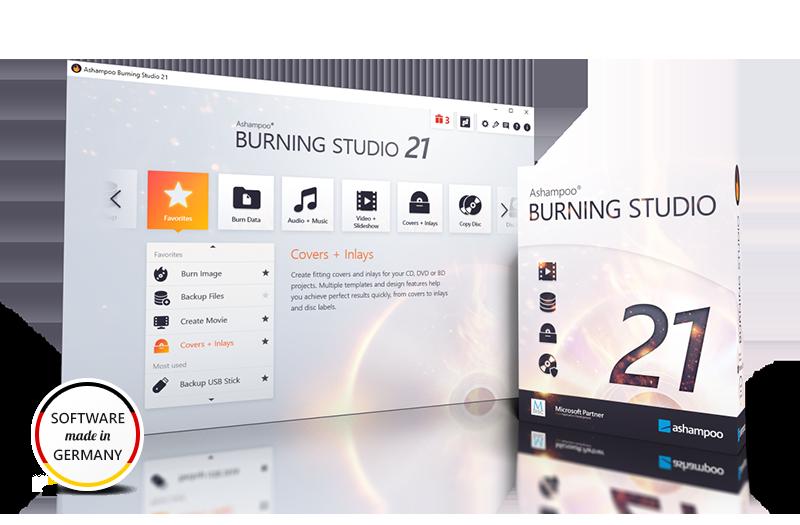 Ashampoo Burning Studio 21 (Review)  Submit17