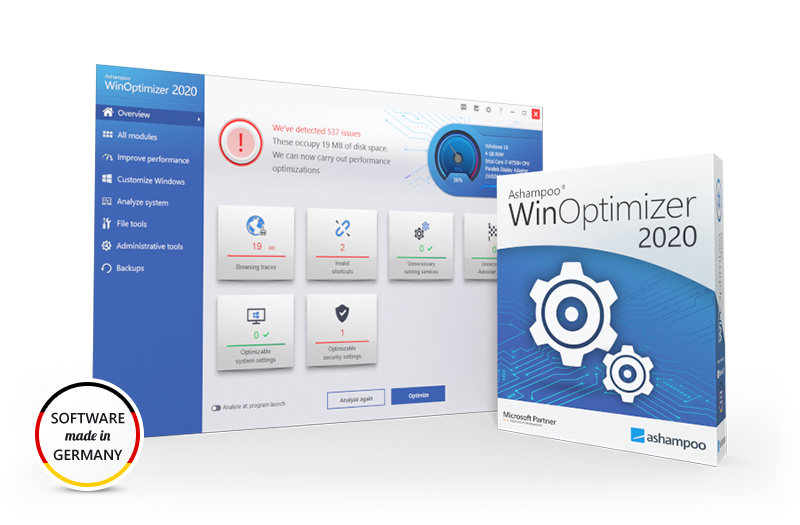 Ashampoo WinOptimizer 2020 (Review)  Submit18