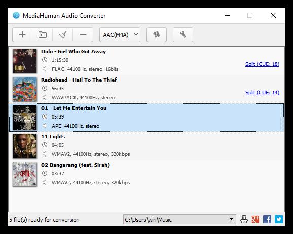 MediaHuman Audio Converter 1.9.7 Thumbn28