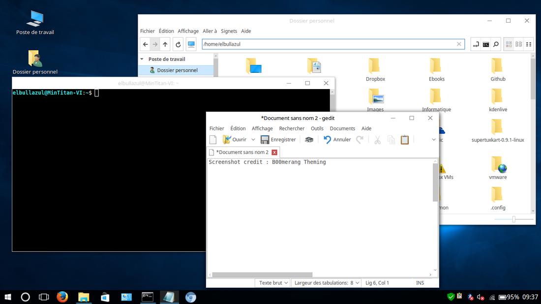 Linux Window12