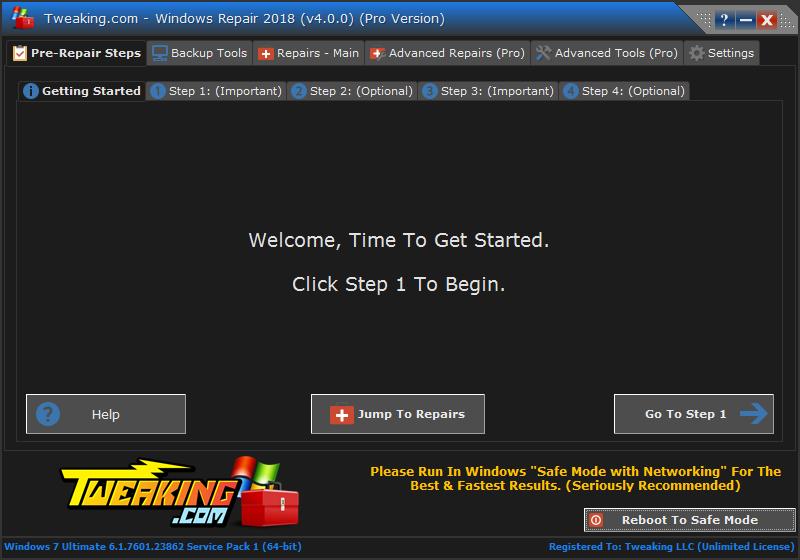 Tweaking.com Windows Repair 4.11.1 Wr_v410