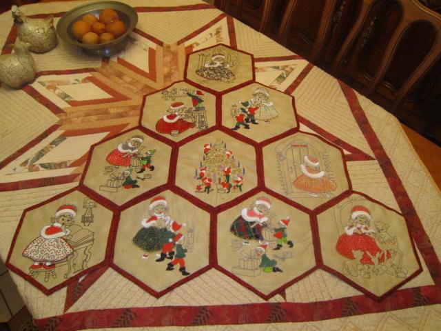 hexagones brodés  Img_5610