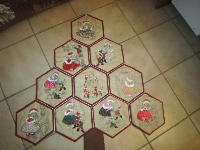 hexagones brodés  Img_5611