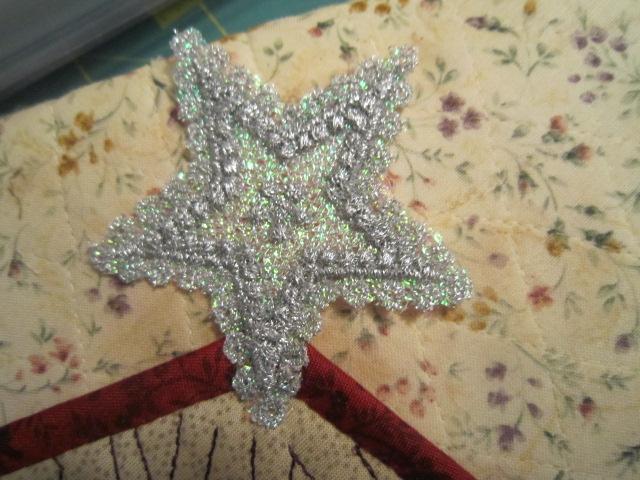 hexagones brodés  Img_5612