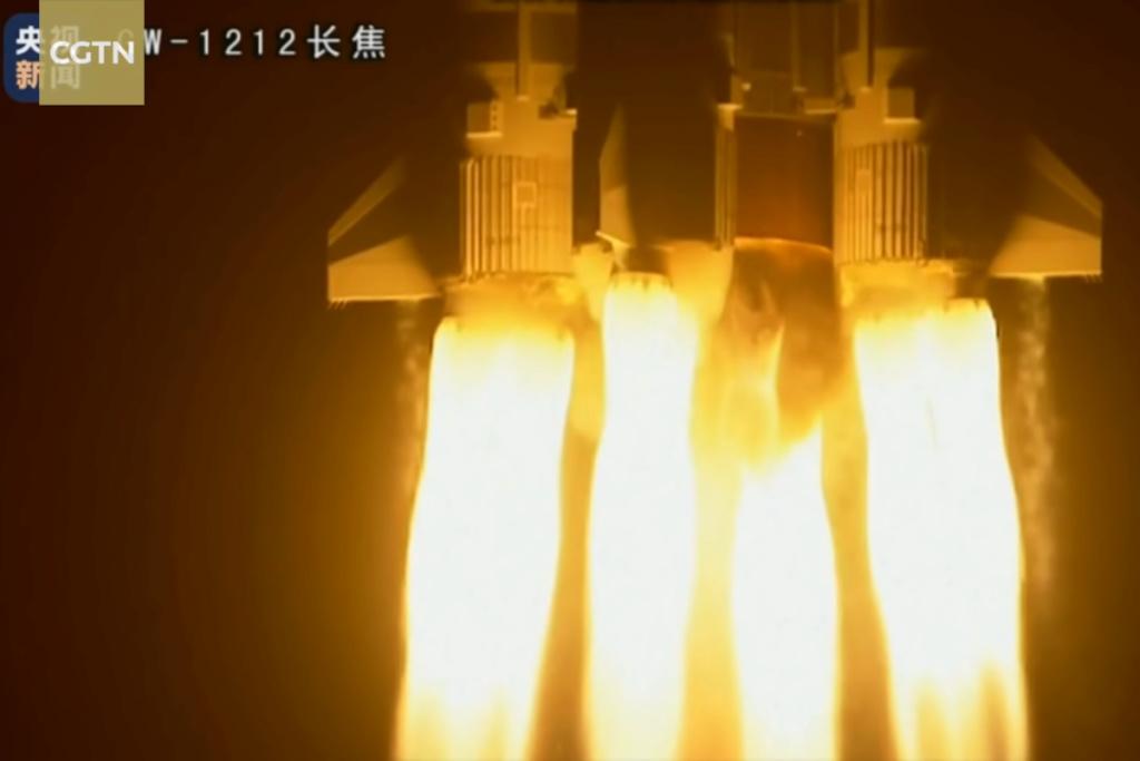 Objectif Mars: le plus puissant lanceur chinois Longue Marche-5 a repris du service.  Chinem12