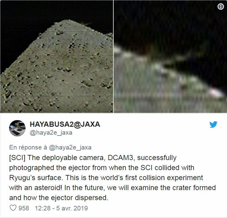 [Sujet Unique] 2014 : La sonde Hayabusa-2 est partie vers l'astéroïde 1999 JU3 - RDV 2018 Haya110