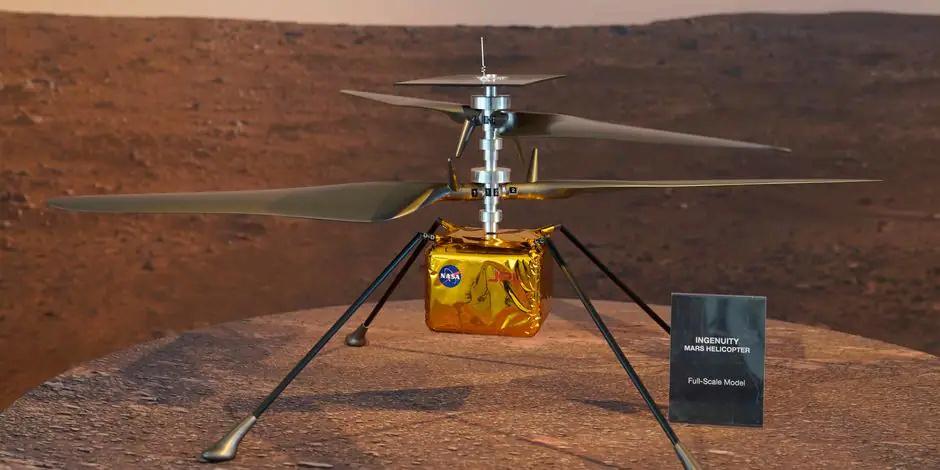 Le Rover Persévérance et son hélicoptère. - Page 3 Ingenu12