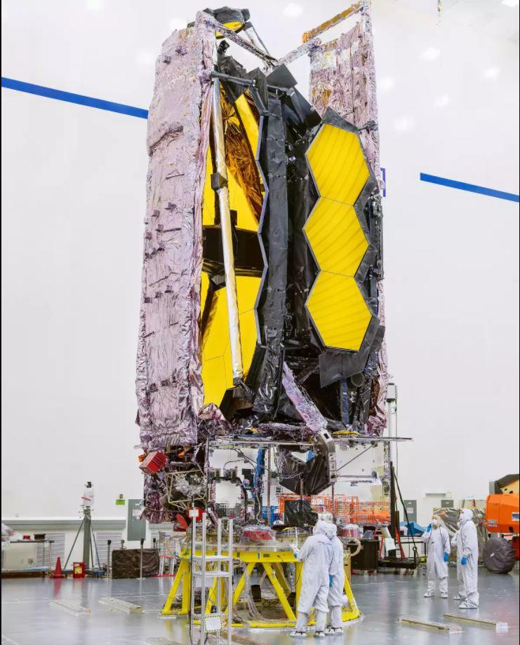 Le James Webb Spatial Telescope est prêt :-) James110
