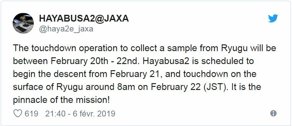 [Sujet Unique] 2014 : La sonde Hayabusa-2 est partie vers l'astéroïde 1999 JU3 - RDV 2018 Japon210