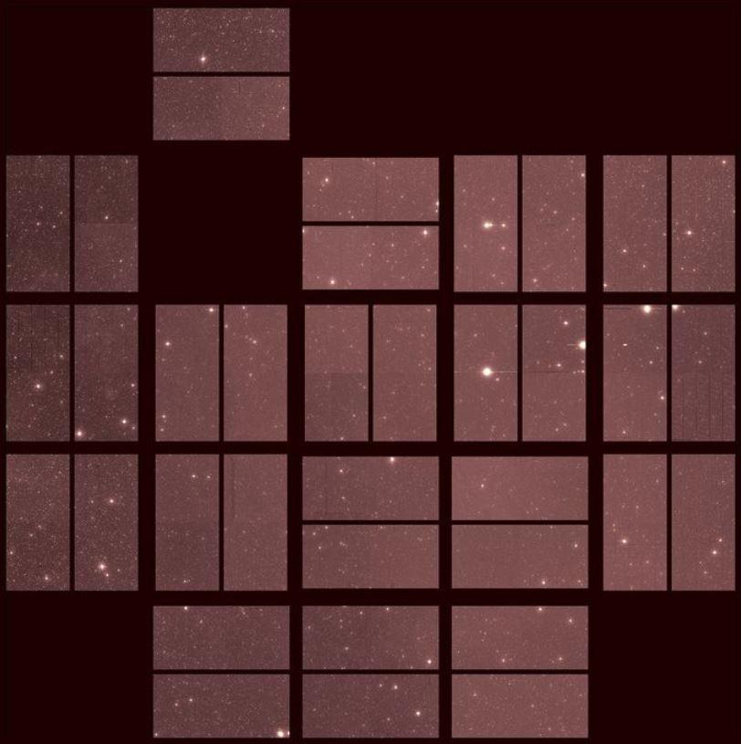 Kepler: La dernière image du chasseur d'exoplanètes. Kepler11