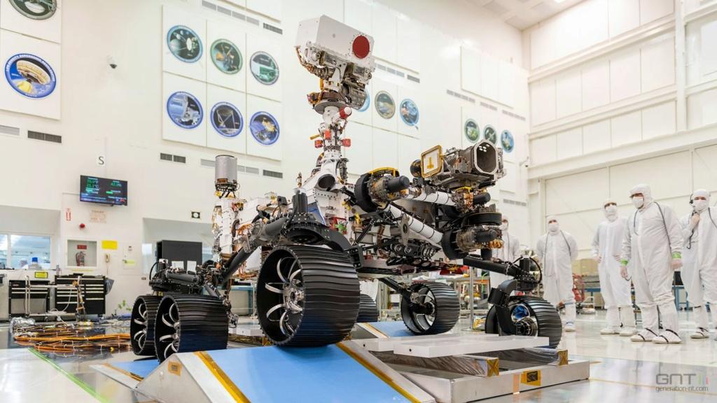 Le Rover Persévérance et son hélicoptère. - Page 4 Rover11