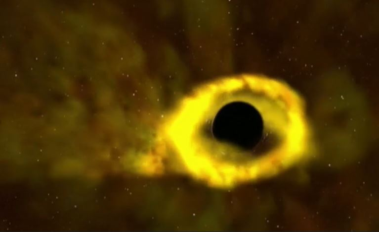 La Nasa filme un trou noir avalant une étoile. Trou_n10