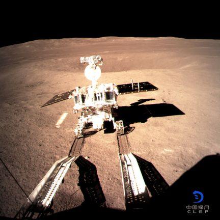 Le premier robot explorateur chinois sur la Lune avant 2013 Yutu-210