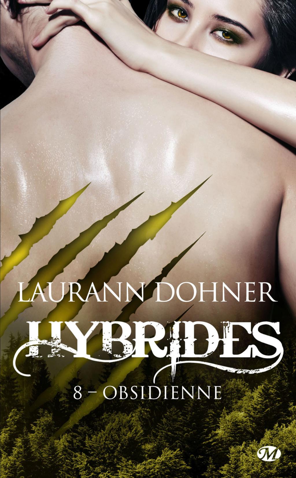 Hybrides - Tome 8 : Obsidienne de Laurann Dohner Hybrid10