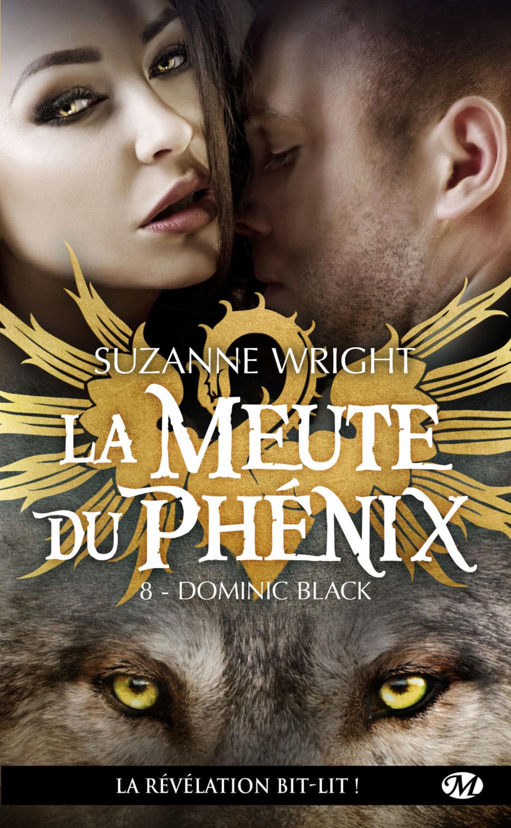 La meute du Phénix - Tome 8 : Dominic Black de Suzanne Wright La-meu10