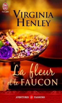 Falcon et Simon - Tome 1 : La fleur et le faucon de Virginia Henley The-me10