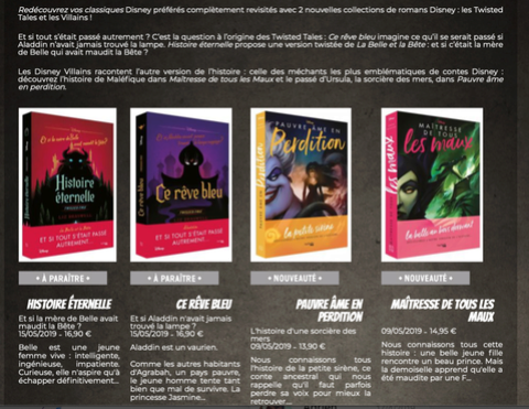 Romans Twisted Tales Et Les Villains Hachette Heros