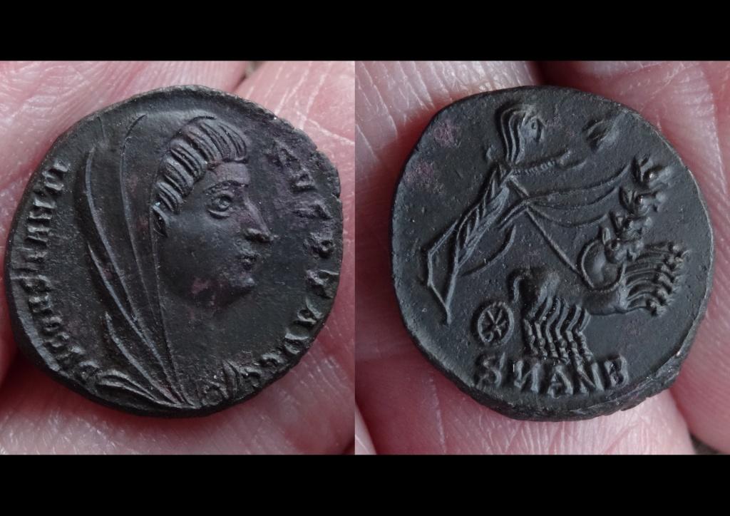 Constantin I divinisé - Suite et fin. Roma3911