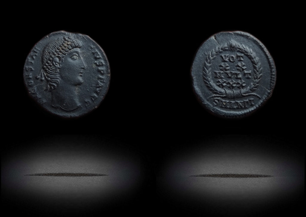 "Constance ii - Antioche RIC. 113 ""éxotique"" Votxxa10"