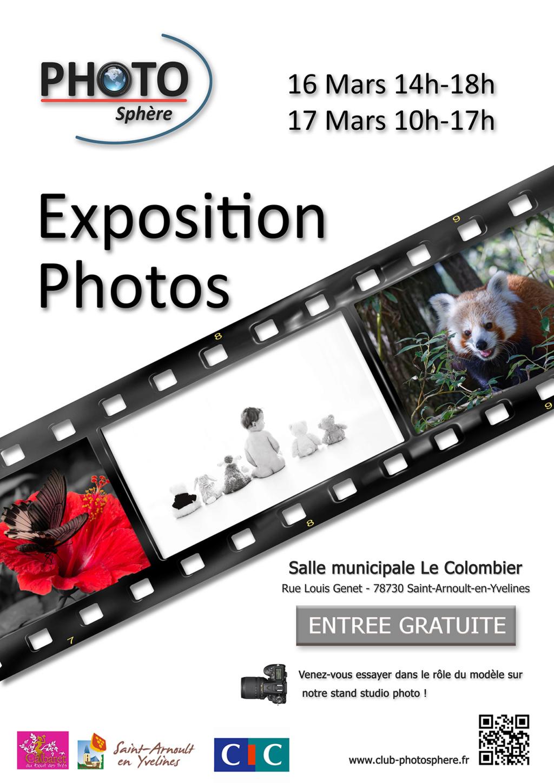 Expo à St Arnoult ce week-end (16 et 17/3/19) Affich11
