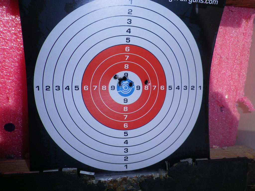 Amélioration pistolet 1701p silhouette Crosman ? - Page 3 Imgp0015