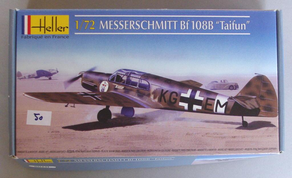 [Heller] Messerschmitt Bf108 Taifun bulgare 01_bf111