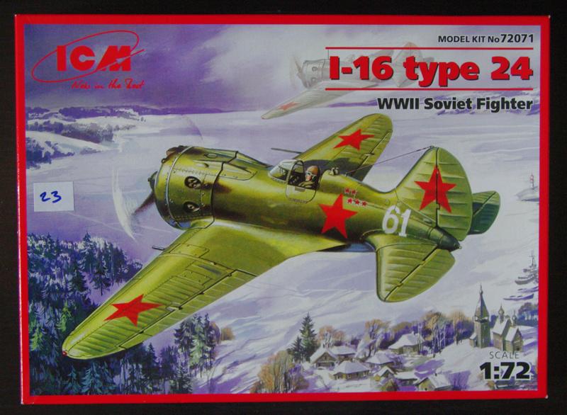 [ICM] Polikarpov I-16 01_i-111
