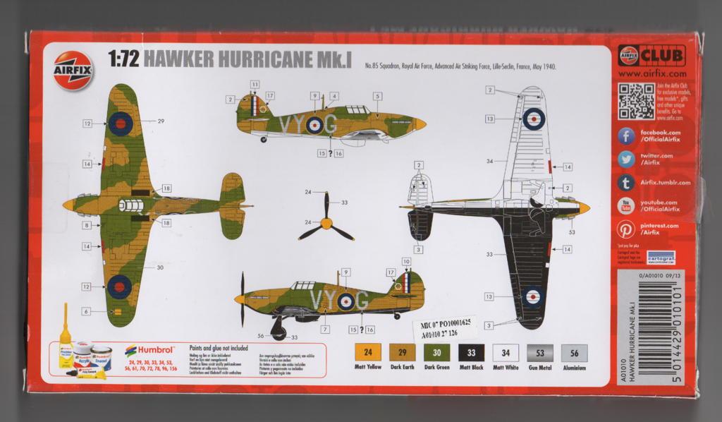 [Airfix] Hawker Hurricane Mk.I Campagne de France 02_hur10