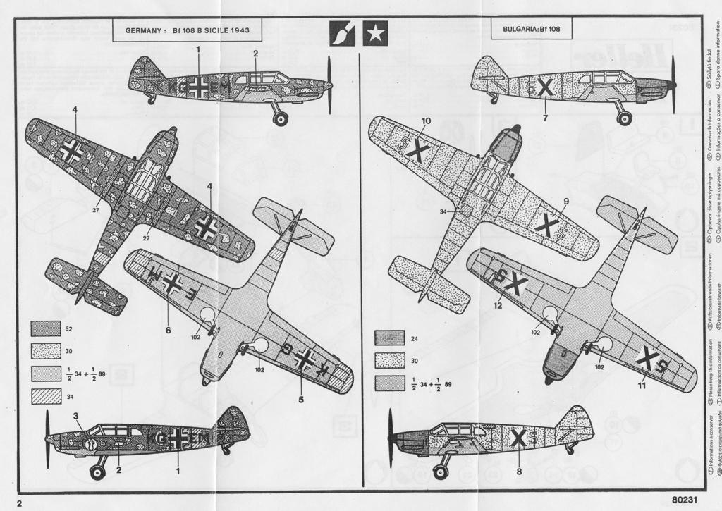 [Heller] Messerschmitt Bf108 Taifun bulgare 03_bf111