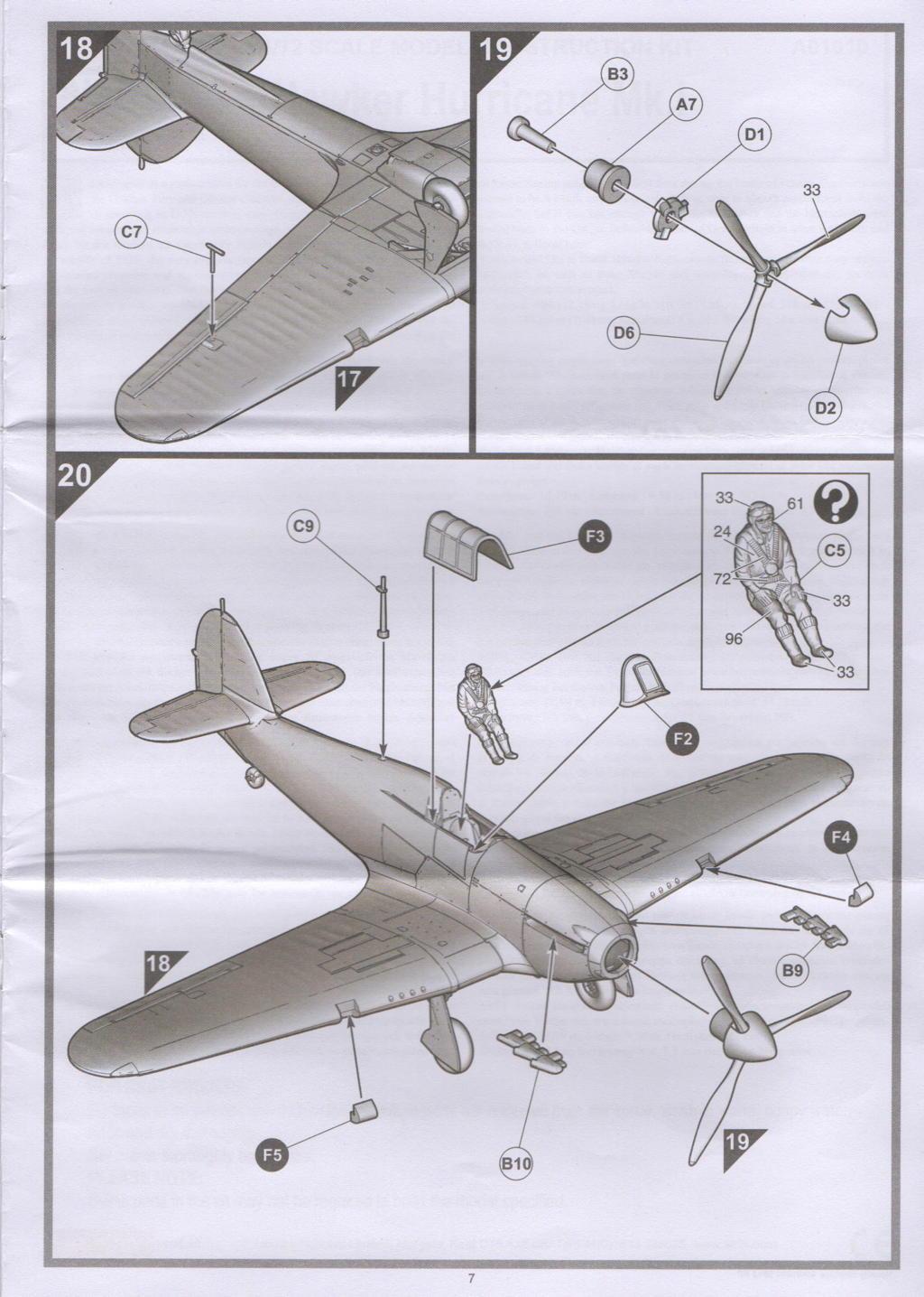 [Airfix] Hawker Hurricane Mk.I Campagne de France 09_hur10