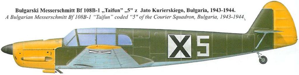 [Heller] Messerschmitt Bf108 Taifun bulgare 11_bf110