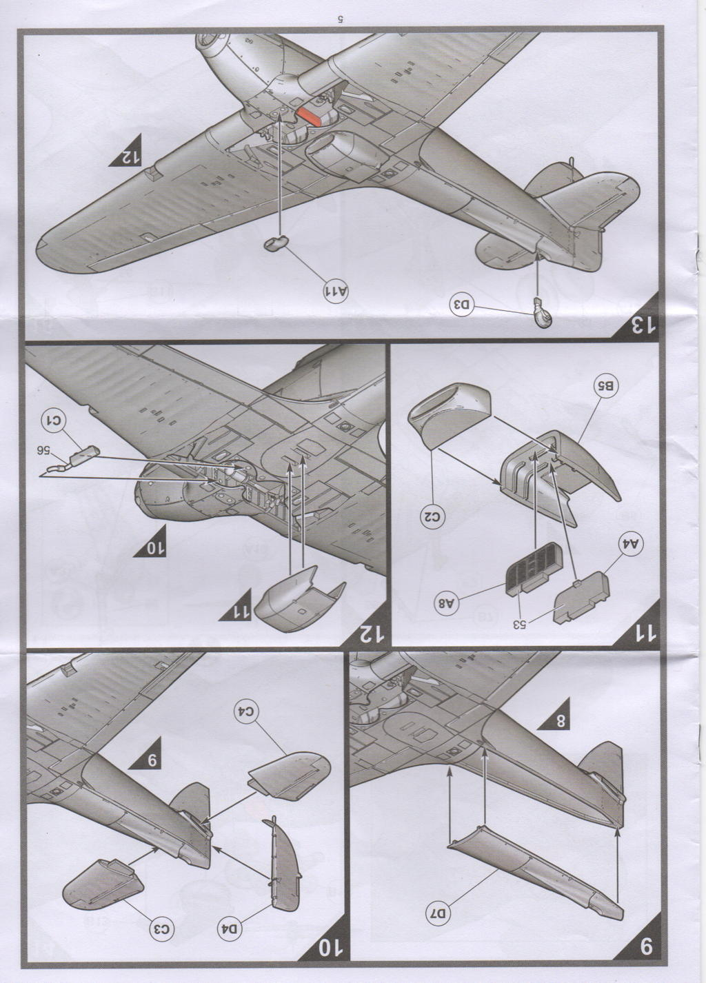 [Airfix] Hawker Hurricane Mk.I Campagne de France Hurric11