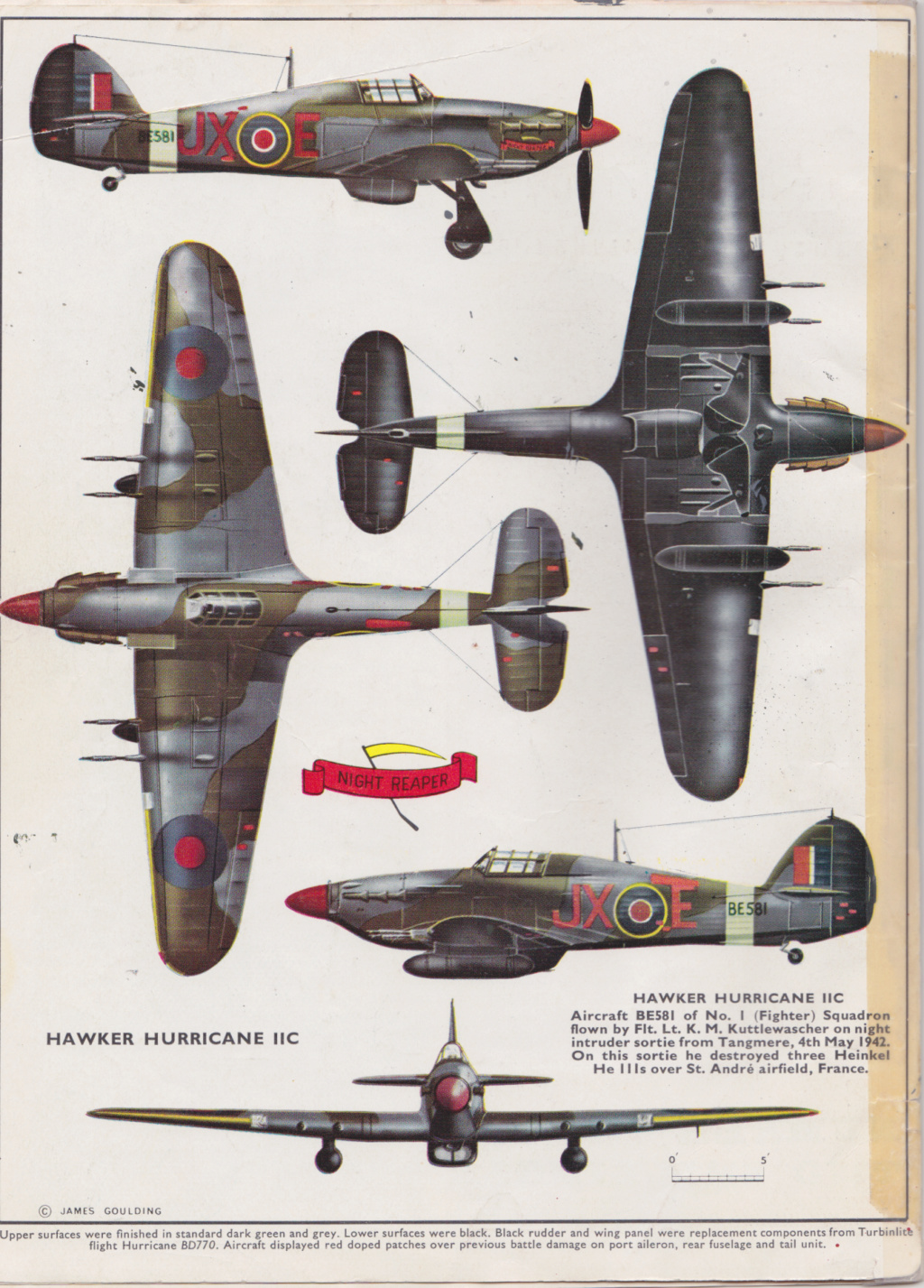 [mister Craft]Hawker Hurricane MK.IIC Czech LT Karel Kuttelwasher Jxe10