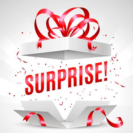 Swap enveloppe - 100% surprise! Cadeau10
