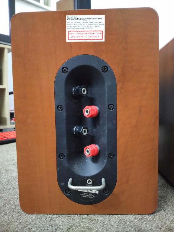 Bookshelf Speaker Q Acoustics 1020  Back_q10